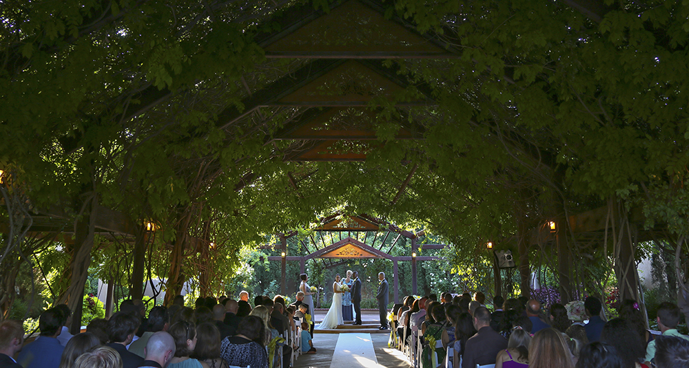albuquerque botanical gardens wedding venue