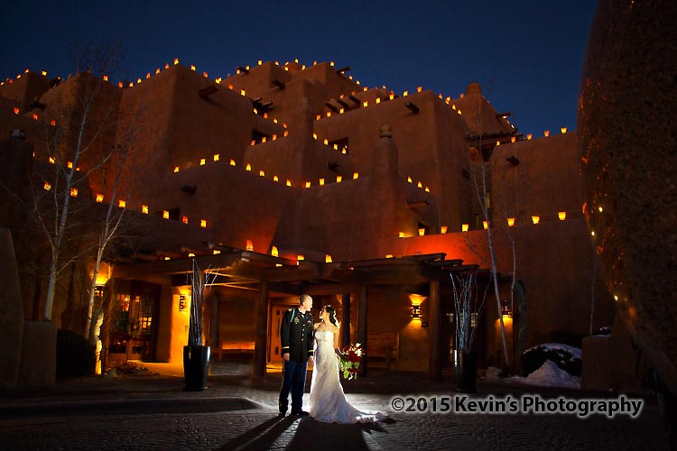 Santa Fe Winter Wedding Inn At Loretto